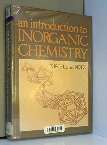 9780030567681: An Introduction to Inorganic Chemistry (Saunders golden sunburst series)