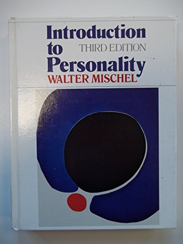 9780030569982: Introduction to personality