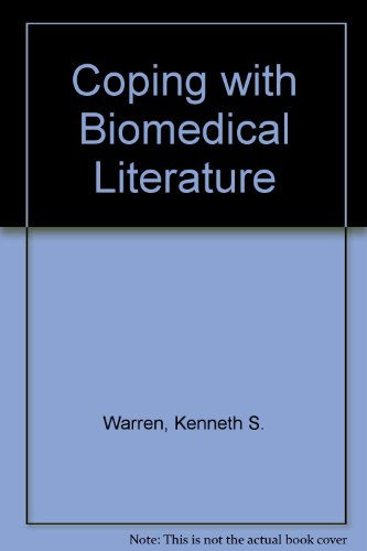 9780030570346: Coping with Biomedical Literature