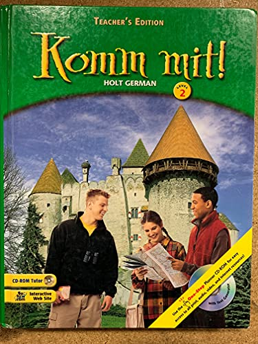 9780030573330: Holt German Komm Mit Level 2 Teacher's Edition [Hardcover] by