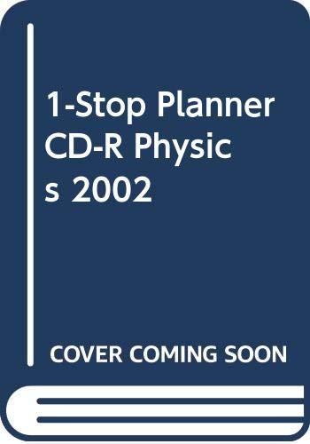 9780030573385: Holt Physics: One-Stop Planner CD-ROM With Test Generator for Macintosh and Windows