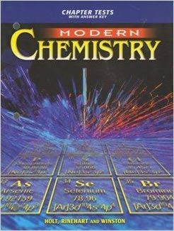9780030573576: Modern Chemistry : Chapter Tests with Answer Key