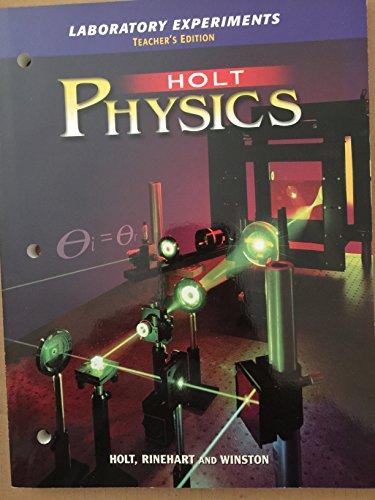 9780030573590: Physics Laboratory Experiments Teacher's Edition