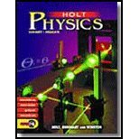 Holt Physics: Section Reviews: Holt Rinehart &