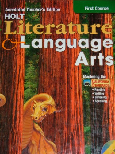 9780030573682: Holt Literature and Language Arts, First Course, Annotated Teacher's Edition