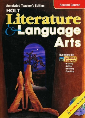 9780030573699: Holt Lilterature and Language Arts, Grade 8