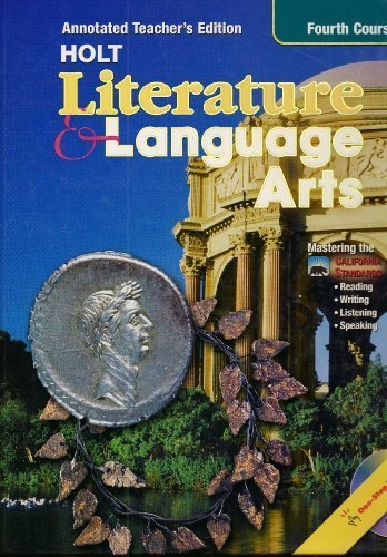 9780030573729: Literature & Language Arts Fourth Course Annotated Teacher's Ed. California Standards