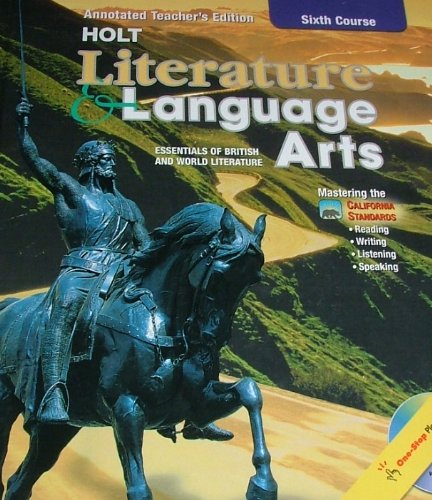 9780030573743: Literature & Language Arts Sixth Course Annotated Teacher's Ed. (California Standards)