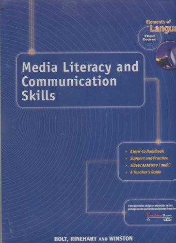 9780030574023: Media Lit & Comm Skills Eolang 2001 G 9