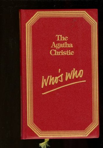 9780030575884: The Agatha Christie Who's Who