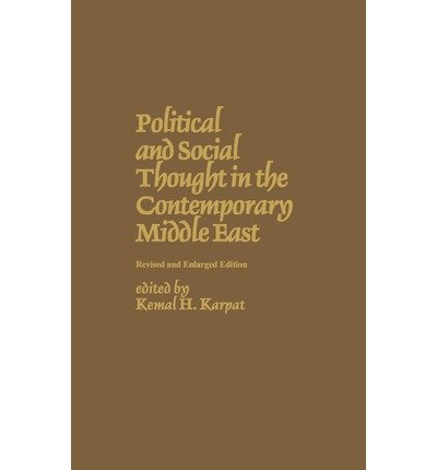 9780030576096: Political and Social Thought in the Contemporary Middle East