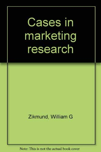 9780030576362: Cases in marketing research