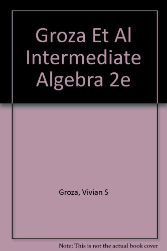 9780030577222: Intermediate Algebra