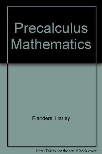 9780030577239: Precalculus Mathematics