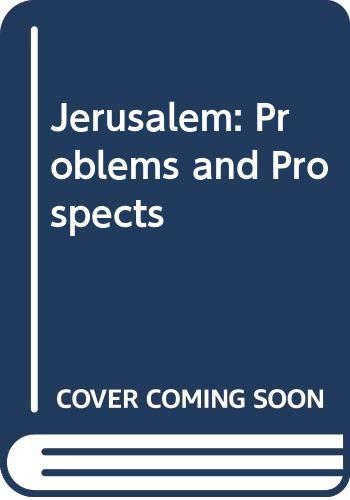 9780030577338: Jerusalem: Problems and Prospects