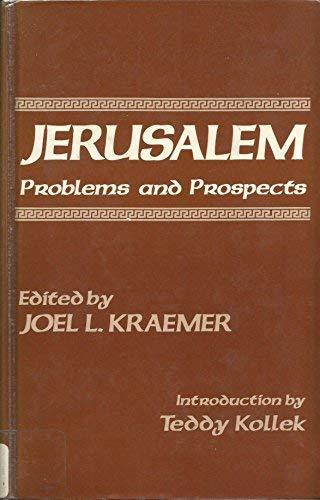 9780030577345: Jerusalem: Problems and Prospects