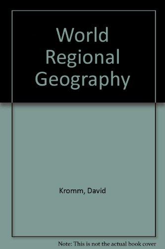 9780030577819: World Regional Geography