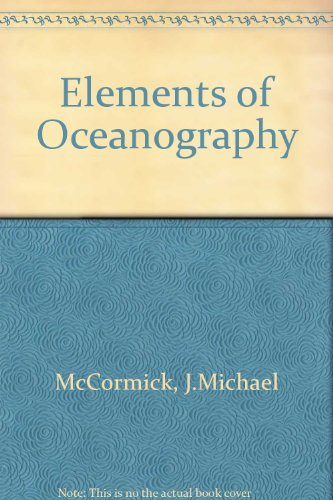9780030578069: Elements of Oceanography