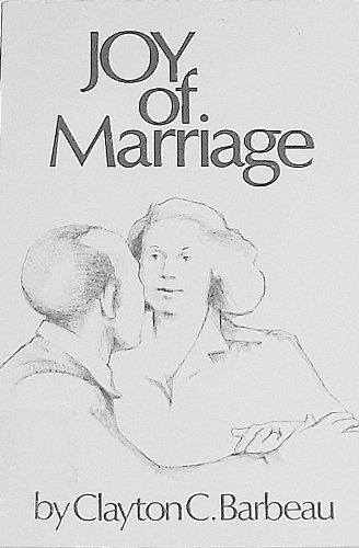 9780030578410: Joy of Marriage