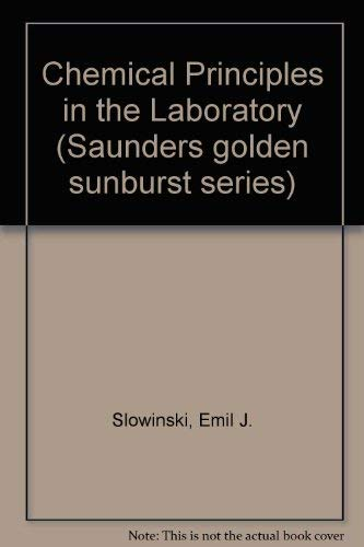 9780030578625: Chemical Principles in the Laboratory