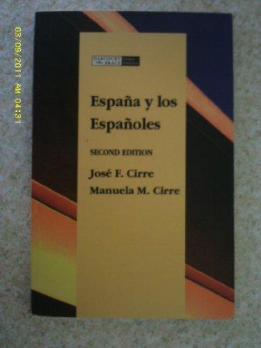 9780030580512: Espana Y Los Espanoles