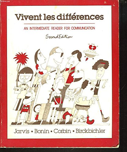 9780030581175: Vivent Les Differences: An Intermediate Reader for Communication