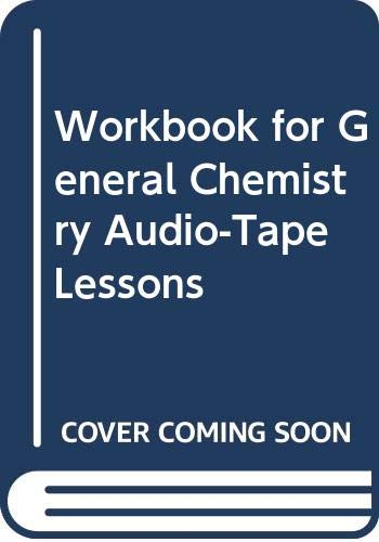 9780030581670: Workbook for General Chemistry Audio-Tape Lessons