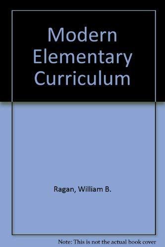 9780030583247: Modern Elementary Curriculum