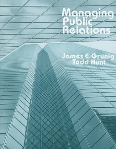 9780030583377: Managing Public Relations CL