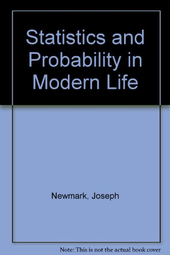9780030584077: Statistics and Probability in Modern Life