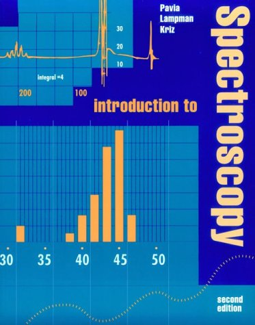 9780030584275: Introduction to Spectroscopy: A Guide for Students of Organic Chemistry (Saunders golden sunburst series)