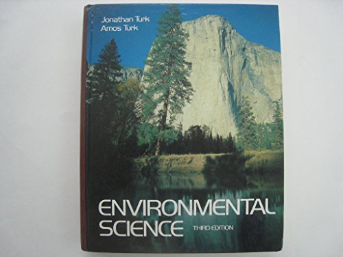 9780030584671: Environmental Science (Saunders golden sunburst series in environmental studies)