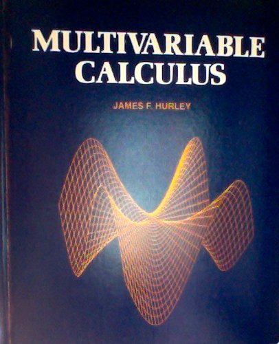 9780030586040: Multivariable Calculus