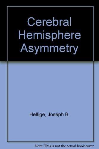 9780030586385: Cerebral Hemisphere Asymmetry