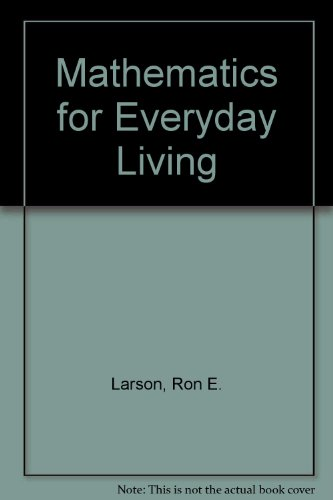 9780030589546: Mathematics for Everyday Living