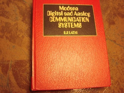 Modern Digital and Analog Communications Systems (HRW: Lathi, Bhagawandas P.