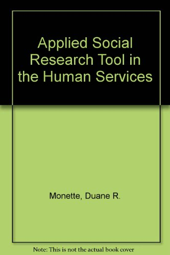 9780030589775: Applied Social Research Tool in the Human Services