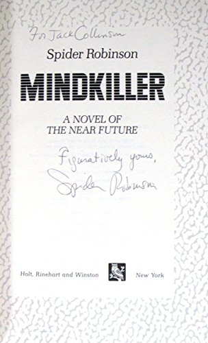 9780030590184: Mindkiller : a novel of the near future
