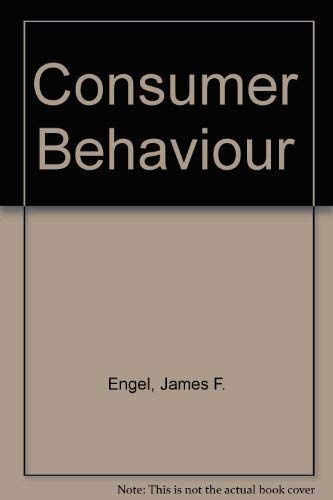 9780030592423: Consumer Behaviour (The Dryden Press series in marketing)