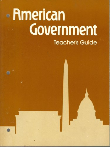 9780030592584: American Government, Teacher's Guide