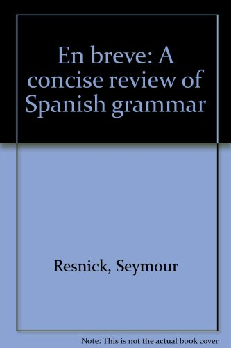 9780030593567: En Breve: A Concise Review of Spanish Grammar