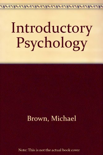 9780030594632: Introductory Psychology