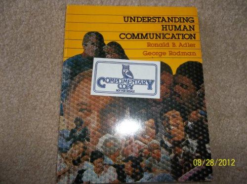 9780030594687: Understanding Human Communication