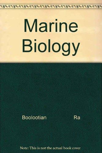 9780030595257: Marine Biology