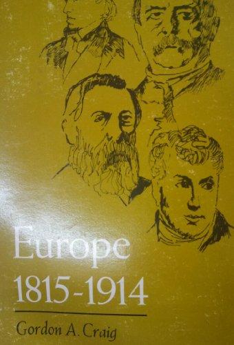 9780030595608: Europe, 1815-1914