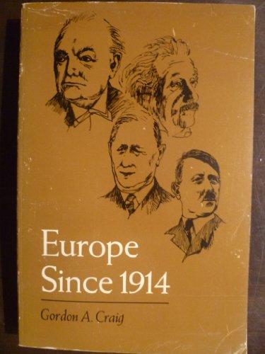 9780030595653: Europe Since 1914
