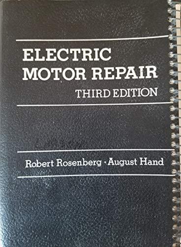 9780030595844: Electric Motor Repair