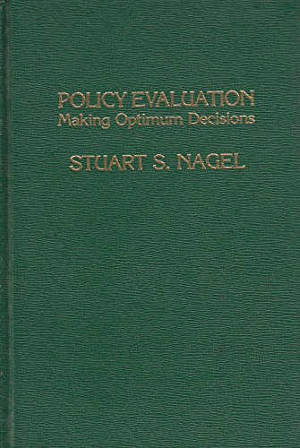 9780030596469: Policy Evaluation: Making Optimum Decisions