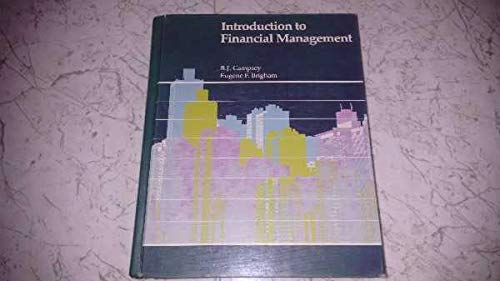 9780030596667: Introduction to Financial Management (The Dryden Press series in finance)