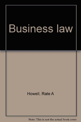 9780030597428: Business law
